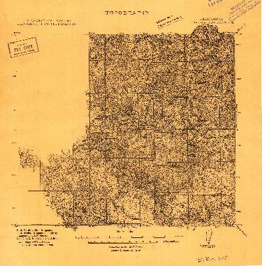 USGS 1:192000-SCALE QUADRANGLE FOR BIG BAR, CA 1911