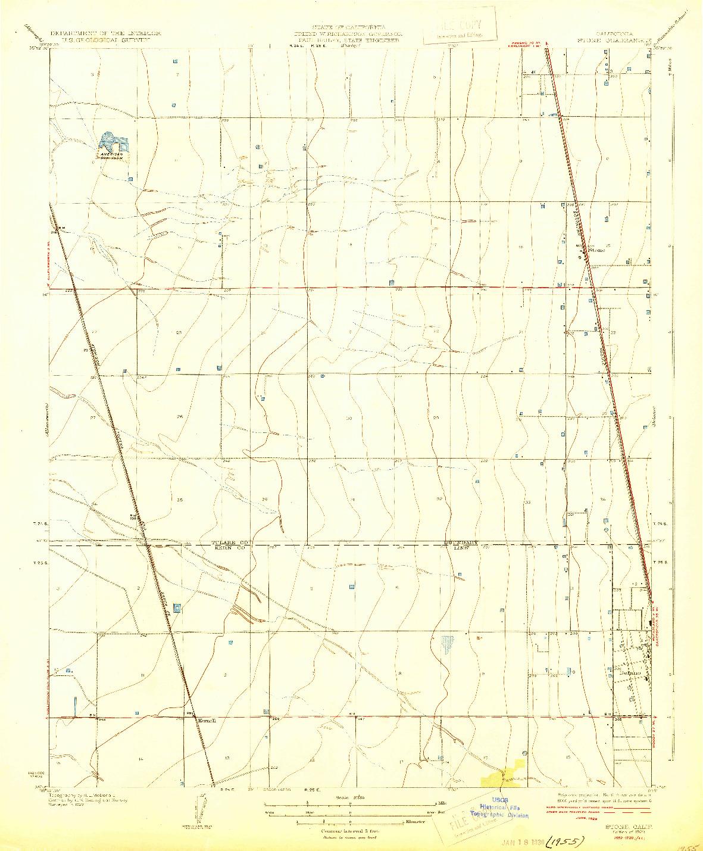 USGS 1:31680-SCALE QUADRANGLE FOR STONE, CA 1929