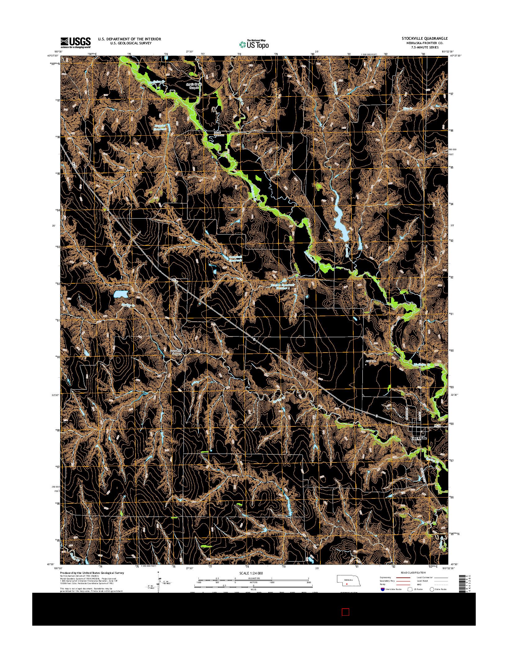 USGS US TOPO 7.5-MINUTE MAP FOR STOCKVILLE, NE 2014